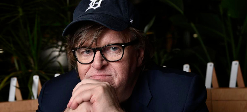 Michael Moore. (photo: The New York Times)