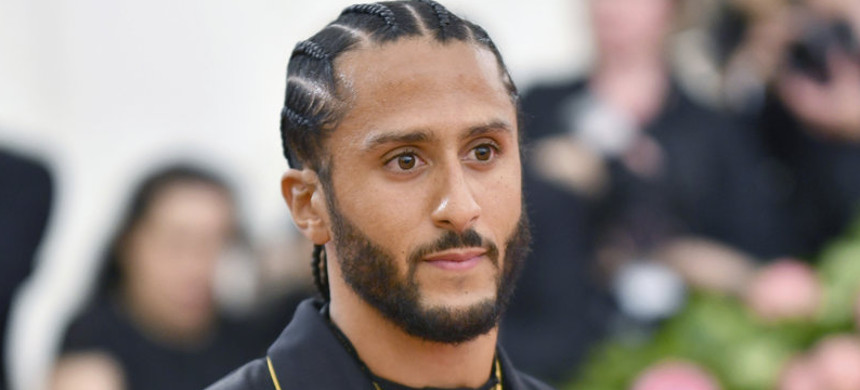 Colin Kaepernick was notified by the NFL on Tuesday that he will have a private workout for NFL teams in Atlanta on Saturday. He last played an NFL snap during the 2016 season. (photo: Charles Skyes/AP)