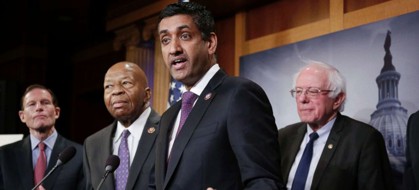 Rep. Ro Khanna. (photo: J. Scott Applewhite/AP)