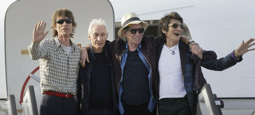 Members of the Rolling Stones. (photo: AP)
