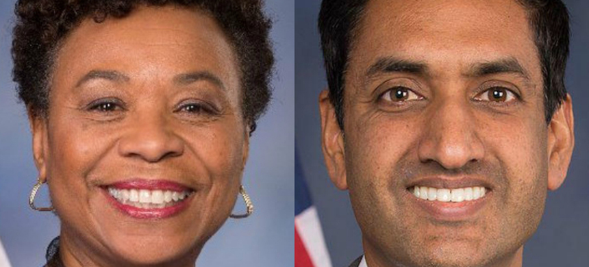 Reps. Barbara Lee and Ro Khanna.