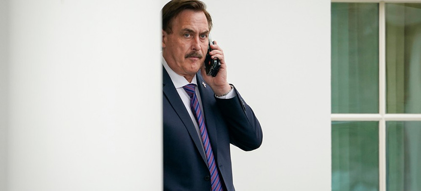 Mike Lindell. (photo: VICE)
