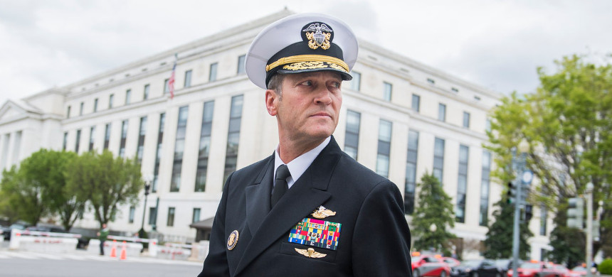 U.S. Navy Rear Adm. Ronny Jackson. (photo: AP)
