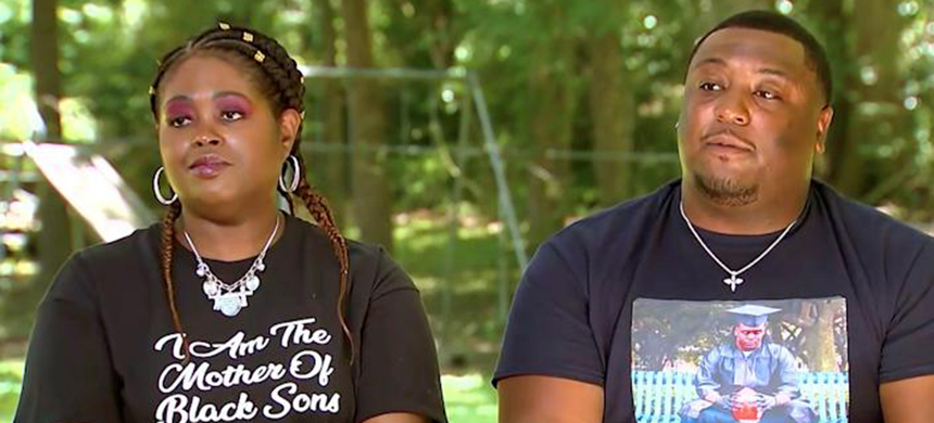 Ariane McCree's cousin Tabatha and brother Michael McCree. (photo: NBC News)